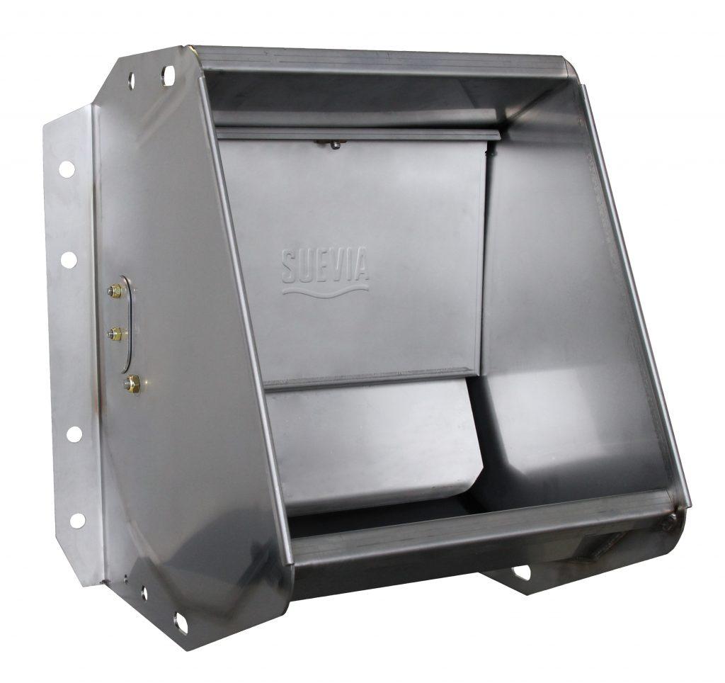 Kendini temizleyen, paslanmaz çelik suluk. ( galvaniz değildir) Serbest duraklı ahırlar ve padoklarda kullanıma uygun
