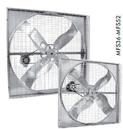 Ahır havalandırma fanları