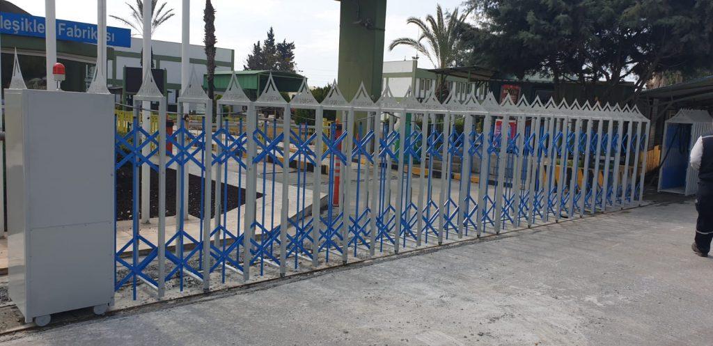Akordiyon Bariyer Kapıları
